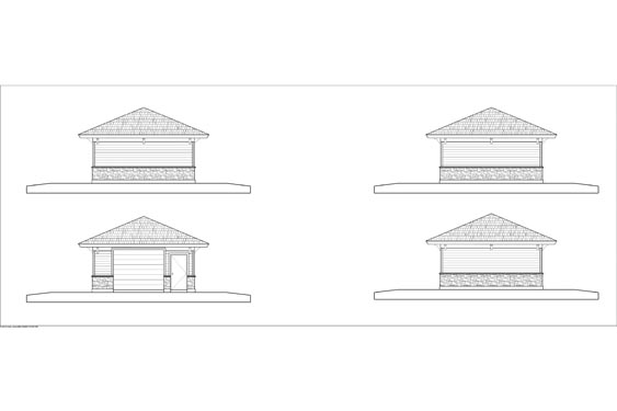 Eagle Landing Phase 1 Maintenance Elevations