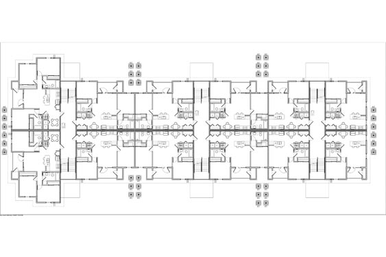 Eagle Landing Phase 1 Floor Plan 3rd floor