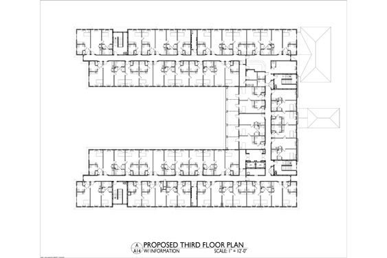Heritage Waterside ALF Daytona Beach 3rd floor Floor Plan 3