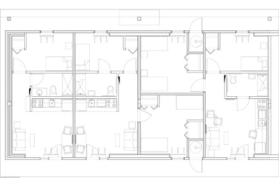 Hope Place Unit E Floor Plans