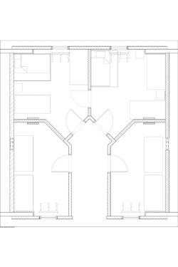 Hope Place Unit F Floor Plans