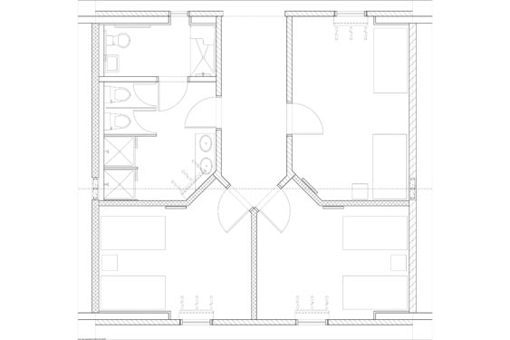 Hope Place Unit C Floor Plans