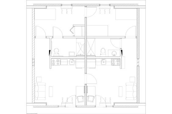 Hope Place Unit D Floor Plans