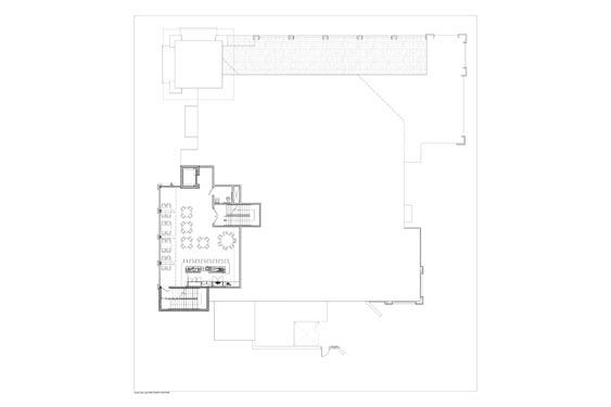 Houligans Restaurant and Bar 2nd floor Floor Plan