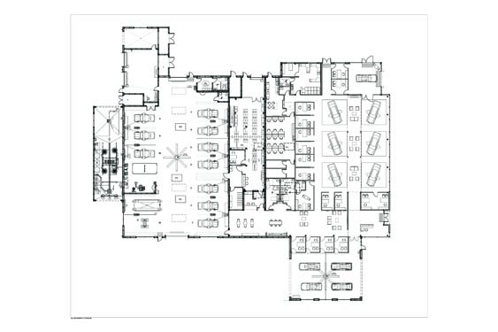 Infiniti Dealership Floor Plan