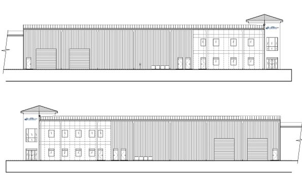 Kingspan DeLand Elevations of Sides