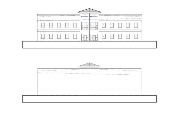 Kingspan DeLand Elevations of Front/Rear