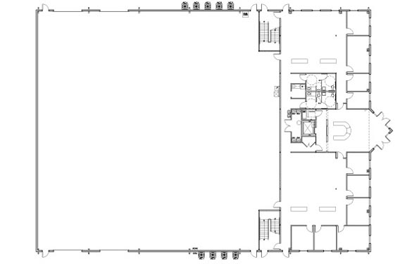 Kingspan DeLand 2nd floor Floor Plan