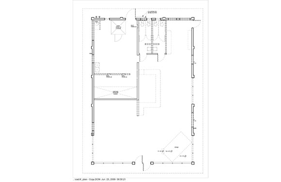Maria Bonitas Restaurant Exterior Seating Floor Plan