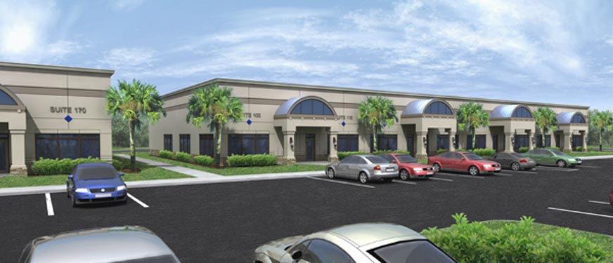 Mason Commerce project rendering of building exterior