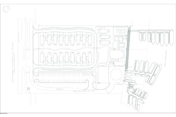 Second view of the NSB Marina Sitemap