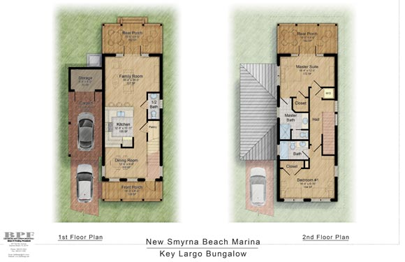 NSB Marina Key Largo Bungalow Floor Plan 2