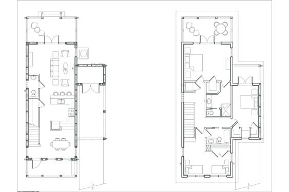 NSB Marina Big Coppit Key Bungalow Floor Plans