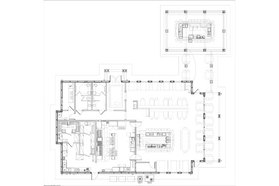NSB Marina Restaurant and Bar Floor Plan