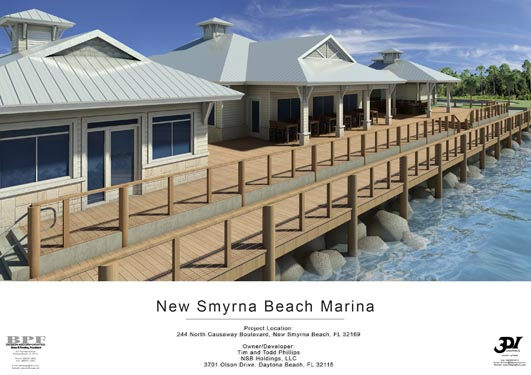 NSB Marina Rendering of dockside bungalows 2