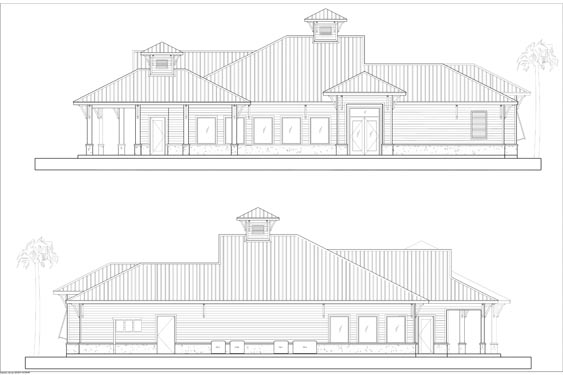 NSB Marina Restaurant Elevations