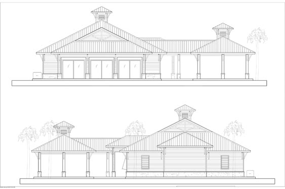 NSB Marina Restaurant Elevations 3