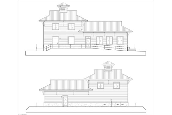 NSB Marina Store Elevations 6