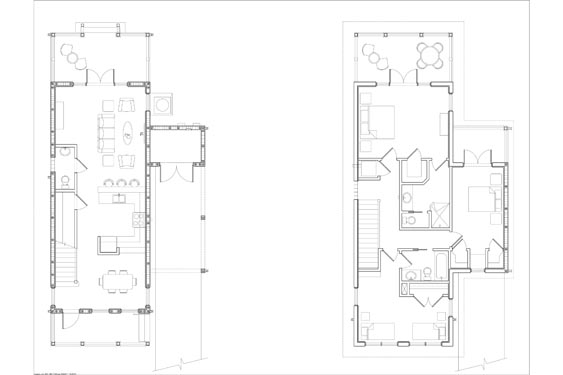 NSB Marina Big Coppit Key Bungalow Floorplans