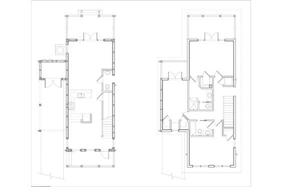 NSB Marina Big Coppit Key Bungalow Floorplan