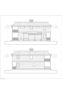 NSB Marina Key West Bungalow Elevations 7