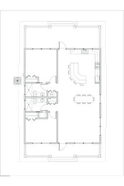 Phillips Ranch S Cabin Floor Plan 1