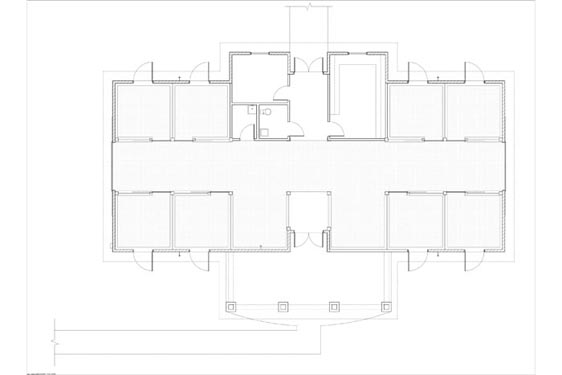 Phillips Ranch Stable Floor Plan