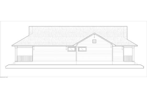 Phillips Ranch L Cabin Elevations Side 2