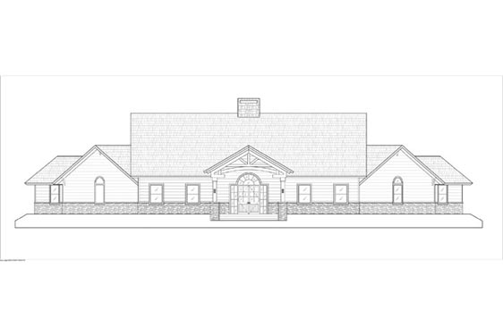 Phillips Ranch Lodge Front Elevations