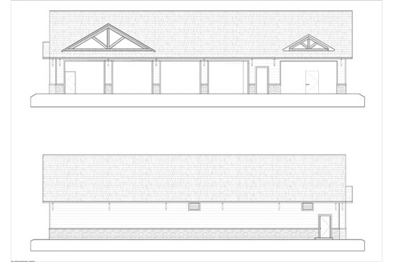 Phillips Ranch Maintenance Elevations Front/Rear