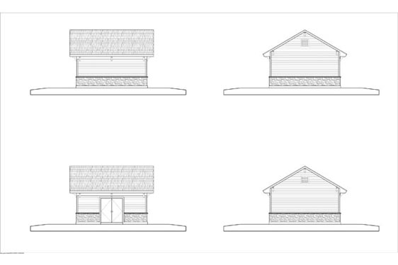 Phillips Ranch Pump House Elevations