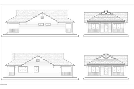 Phillips Ranch S Cabin Elevations