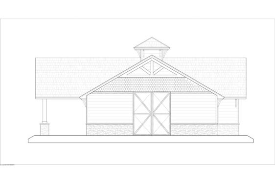Phillips Ranch Stable Elevations Side 1