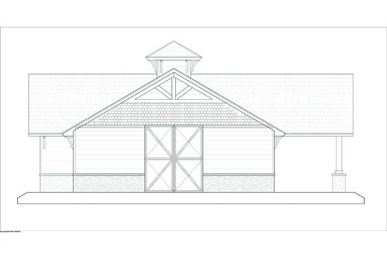 Phillips Ranch Stable Elevations Side 2