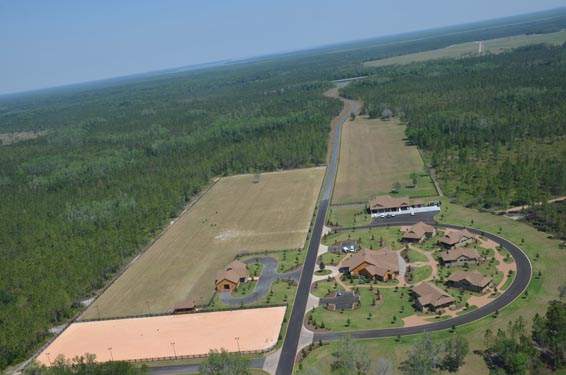 Phillips Ranch Completed Project Aerial View 2
