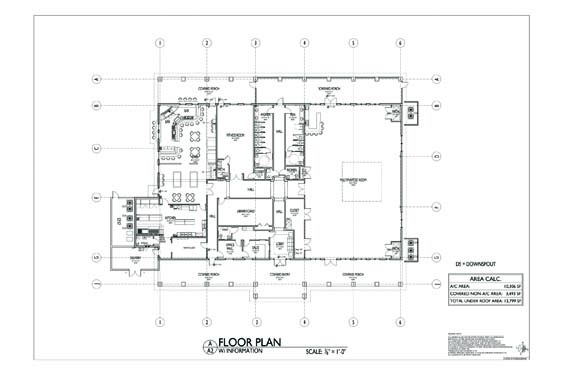 Plantation Oaks Clubhouse Floor Plan