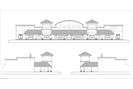 Port Orange Regal Center Elevations