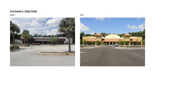 Port Orange Regal Center Before/After Images