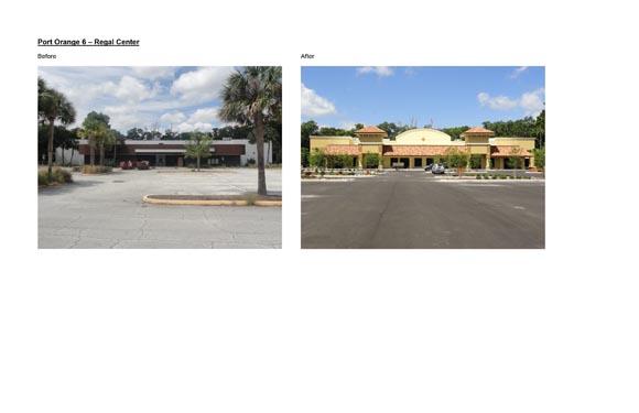Port Orange Regal Center Before/After Images