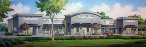 Realty Pros Office Building Project Rendering of Building Exterior