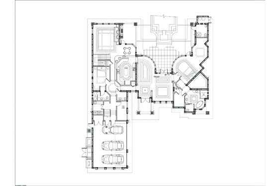 Russell Private Residence Floor Plan Floor 1