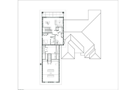 Russell Private Residence Floor Plan Floor 2