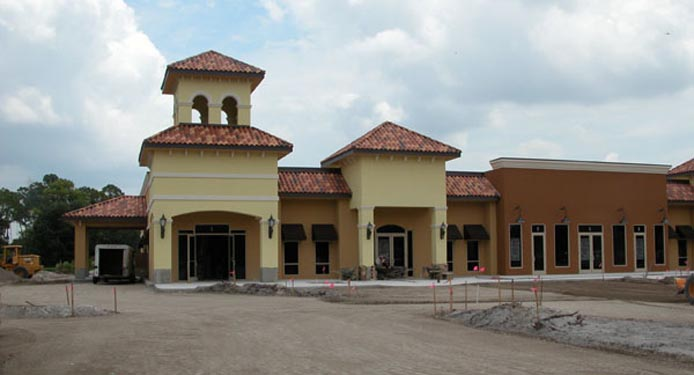 Southwinds Shoppes Construction Site of Front of Shops 2