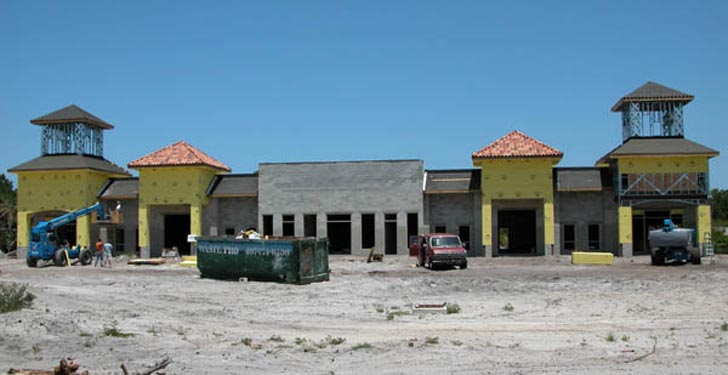 Southwinds Shoppes Construction Site 3