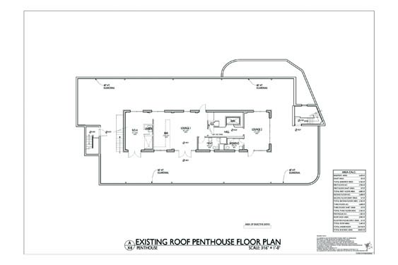 Streamline Hotel Roof Lounge Floor Plan 2