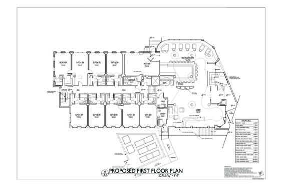 Streamline Hotel Floor Plan 2