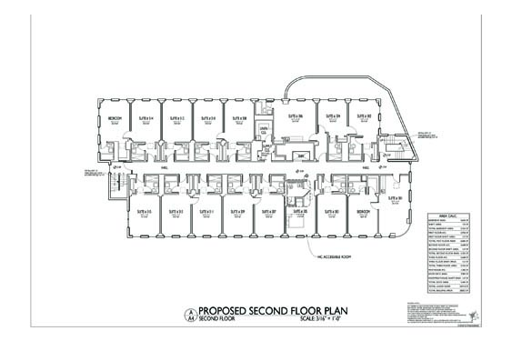 Streamline Hotel Floor Plan 3