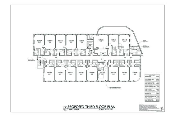 Streamline Hotel Floor Plan 4