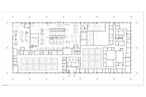 Teledyne Gas Oil HQ Project Floor Plan