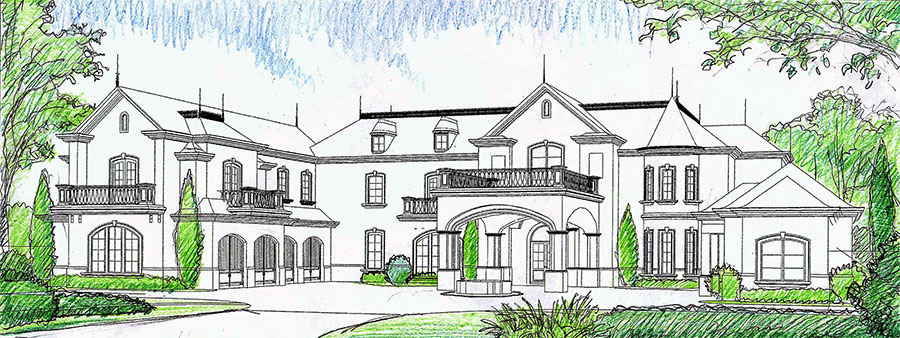 Yeoman Residence Drawing